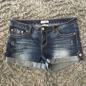 True Bliss Denim Shorts